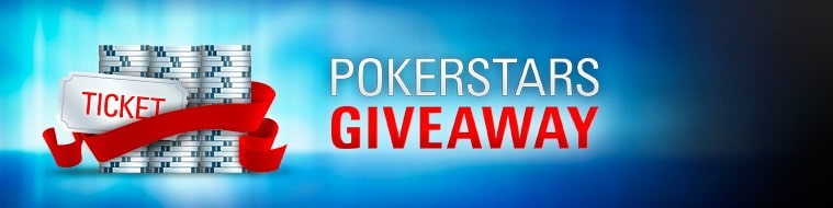 PokerStars Giveaway — баннер