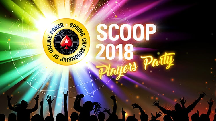 Акция SCOOP 2018 Players Party на ПокерСтарс