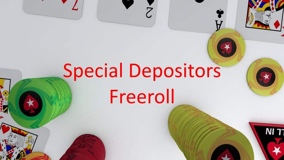 Special Depositors Freeroll на Покер Старс